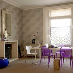 How to decorate with geometric pattern