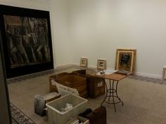#SironiSorrento #allestimento le sale di Villa Fiorentino si rivestono di #arte.