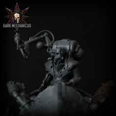 A mix of fantasy, necron and dark eldar parts work in harmony to create a truly awesome model.