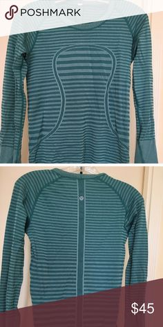 Lululemon LS Swiftly Tech Lululemon LS Swiftly Tech. Amazing condition only worn once but tag is not attached anymore. Size 4 lululemon athletica Tops Tees - Long Sleeve
