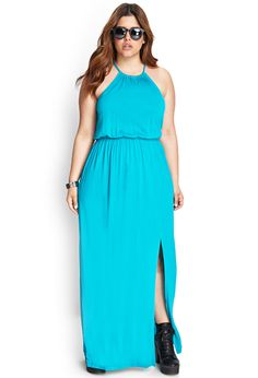 Halter Maxi Dress | FOREVER21 #F21Plus