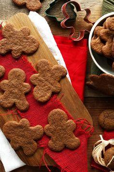 Vegan - Gluten Free Gingerbread Men (For my gluten free friends.)