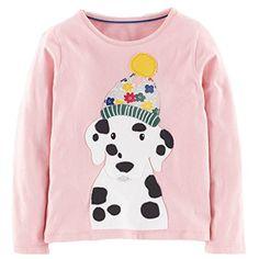 95ea420e5504 BABYBOX Baby Box Little girls  kids long sleeve dog T-Shirts Toddler  Outfits