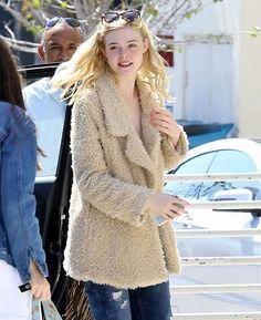 Elle Fanning wearing STRÖM Brand Kille Ray jeans in Bevrly Hills » STROM Brand