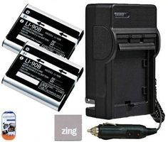 Olympus Tough TG-1 iHS TG-2 iHS SH-50 iHS Digital Camera Battery & Battery Charger Kit Includes - Qty 2 LI-90B Replacement Batteries + AC/DC Battery Charger + LCD Screen Protectors + Micro Fiber Cleaning Cloth by Big Mike's. $22.99. Bring your digital camera back to life with a new battery. Make sure you never miss another once-in-a-lifetime moment by having a new LI90B LI-90B battery specifically designed for your Olympus Tough TG-1 iHS TG-2 iHS SH-50 iHS digit...