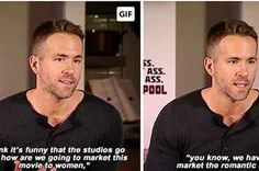 Ryan Reynolds Had The Perfect Response To The Sexist Marketing Of Superhero Movies