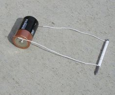 The Scratching Post: Homemade Electromagnet Project