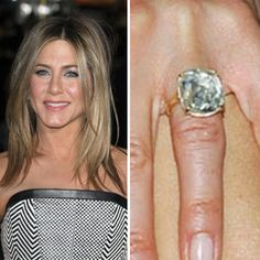 Jennifer Aniston S Engagement Ring Looks Cloudy 26 | Engagement ...
