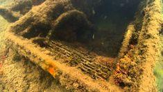 An underwater view of the USS Arizona Memorial. Uss Arizona Memorial, Scuba Diving Gear, Pearl Harbor, Underwater World, World War Ii, December 7, Country Roads, Ocean, Adventure