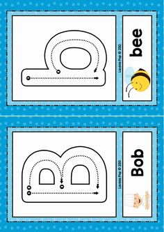 FREE Phonics Letter of the week B. Alphabet flash cards or play dough mats with correct letter formation.