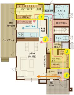 Japanese Architecture, House Rooms, House Floor Plans, My Dream Home, Flooring, How To Plan, Interior, Home Decor, Houses