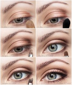 """""""Natural Glow"""" by MissHeledore History of eye makeup """"Eye care"""", quite simply, """"eye make-up"""" has Eye Makeup Steps, Makeup Eye Looks, Natural Eye Makeup, Natural Eyes, Natural Glow, Makeup Tips, Beauty Makeup, Makeup Tutorials, Natural Beauty"""