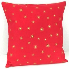 Gold Stars on Red Ch