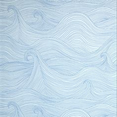 Image of Seascape wallaper- Why yes, I would like to wallpaper a bathroom in this incredible paper, thanks for asking.