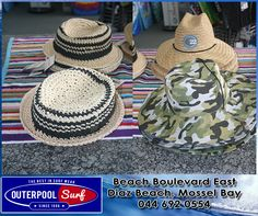 In store we have some lovely hat for the ladies and men. It's very important to wear a hat for when your in the sun. Surf Wear, Wearing A Hat, Sun Hats, Panama Hat, Surfing, Sunglasses, Store, Lady, Beach