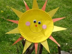 Paper plate sun   # Pin++ for Pinterest #