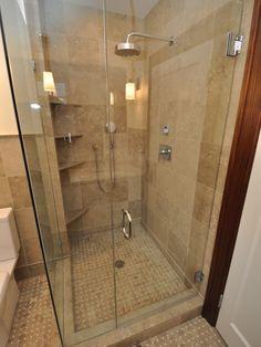 Seagrass Limestone Shower