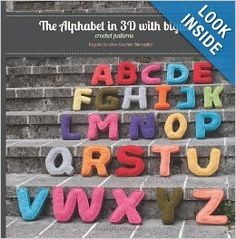 #Crochet patterns for all letters in the alphabet by Bigunki