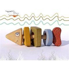 Fisk rangle-puslespill