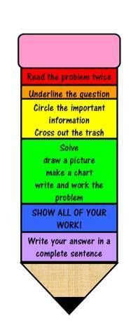 Use to go over math word problems.  Use page protectors and different colors of dry erase markers to highlight the different parts.