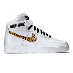 size 40 bab3c e214e Nike Air Force 1 High 07 with Cheetah Swoosh