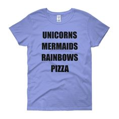 2bee6ba87e5 Cotton Tee (7 colors). Mermaid Fairy