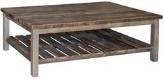 Dawson Coffee Table DOV4802 by Dovetail Furniture  @ Southern Style Fine Furniture