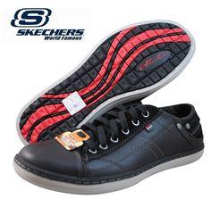 ¡Chollo! Zapatos Skechers Sorino Pantalone de color negro por 31.96 euros. Mitad de precio!