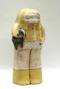 Ceramic Figures, Clay Figures, Ceramic Artists, Ceramic Clay, Ceramic Pottery, Clay Faces, Gifts For An Artist, Pulp, Clay Baby