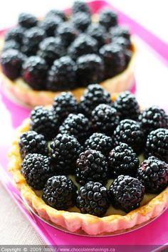 Chocolate Shavings: Blackberry Tarts