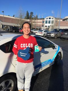 Congratulations Yilong! 🚙🚙 Way to go on passing your road test earlier this week! #ipassed #SuccessSaturday #learnwithvalley #newdriver