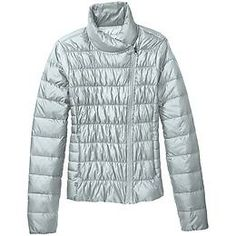 Sochi Inspired! From Athleta: Downalicious Jacket - Soft, lightweight Downalicious with InsulEight fill in the most feminine down jacket for life in the cold.