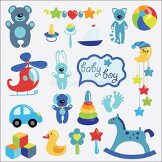 Ideas baby boy art toys for 2019 Baby Boy Art, Baby Boy Toys, Baby Boy Themes, Baby Boy Baptism, Baby Clip Art, Baby Boy Shower, Baby Born Clothes, Trendy Baby Boy Clothes, Clipart Baby