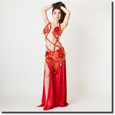 Sahar Okasha オリエンタル衣装 20so10_24_rdfl | ★オリエンタル衣装【Sahar Okasha】 | | ベリーダンス衣装・通販 Fig