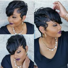 Short Cut Hairstyles 60 Great Short Hairstyles For Black Women  Pinterest  African