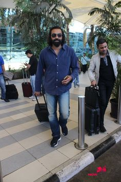 Bobby Deol Snapped At Domestic Airport