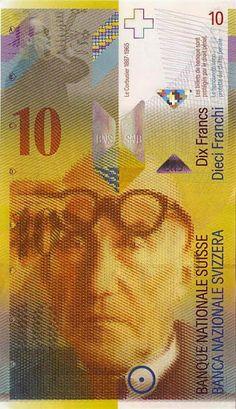 Le Corbusier, 10 Franken