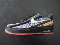 """NIKE AIR FORCE 1 LOW """" CRESCENT CITY """" Q.S."""