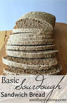 Basic Sourdough Sandwich Bread