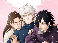 Hashirama, Tobirama, and Madara