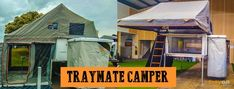 image of Traymate camper- the best aluminium ute canopies