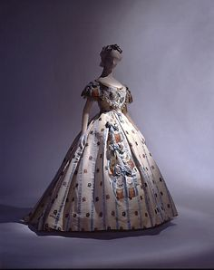 American Ball Gown 1861-62