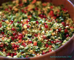 hani bana hani bana: Tarif No:23 Kuskuslu Brokoli Salatası
