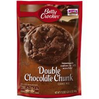 Get a head start on delicious homemade double chocolate chunk cookies with Betty Crocker Cookie Mix. Homemade Cookies, Yummy Cookies, Mint Cookies, Bar Cookies, Betty Crocker Cookie Mix, Gourmet Recipes, Dessert Recipes, Double Chocolate Chip Cookies, Creative Desserts