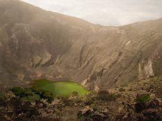 Lago del cráter del volcán Irazú, Costa rica