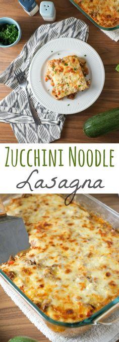 Zucchini Lasagna Rec