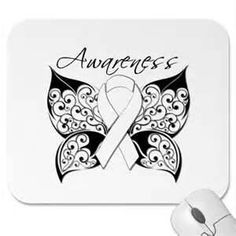 Lung Cancer Ribbon Tattoo Designs