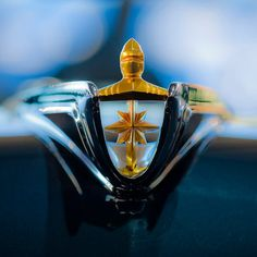 1956 #Lincoln Premiere Hood Ornament 3 by Jill Reger  #coolcars QuirkyRides.com