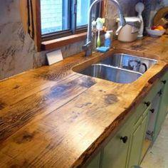 Ce n'est pas si compliqué et le résultat est étonnant. Ça prend seulement quelques planches de bois ... - Photo Pinterest