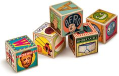 Christian Northeast ~ XYZ BLOCKS  for Fred and Friends